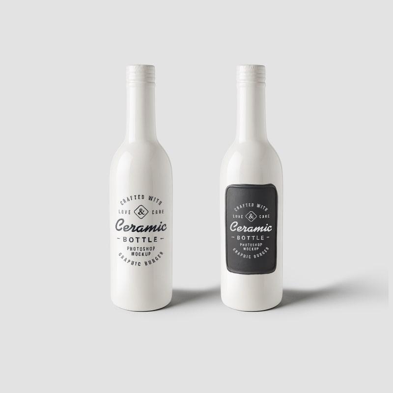 Ceramic Bottle Design