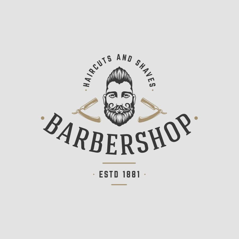 Gentleman Barber Logo