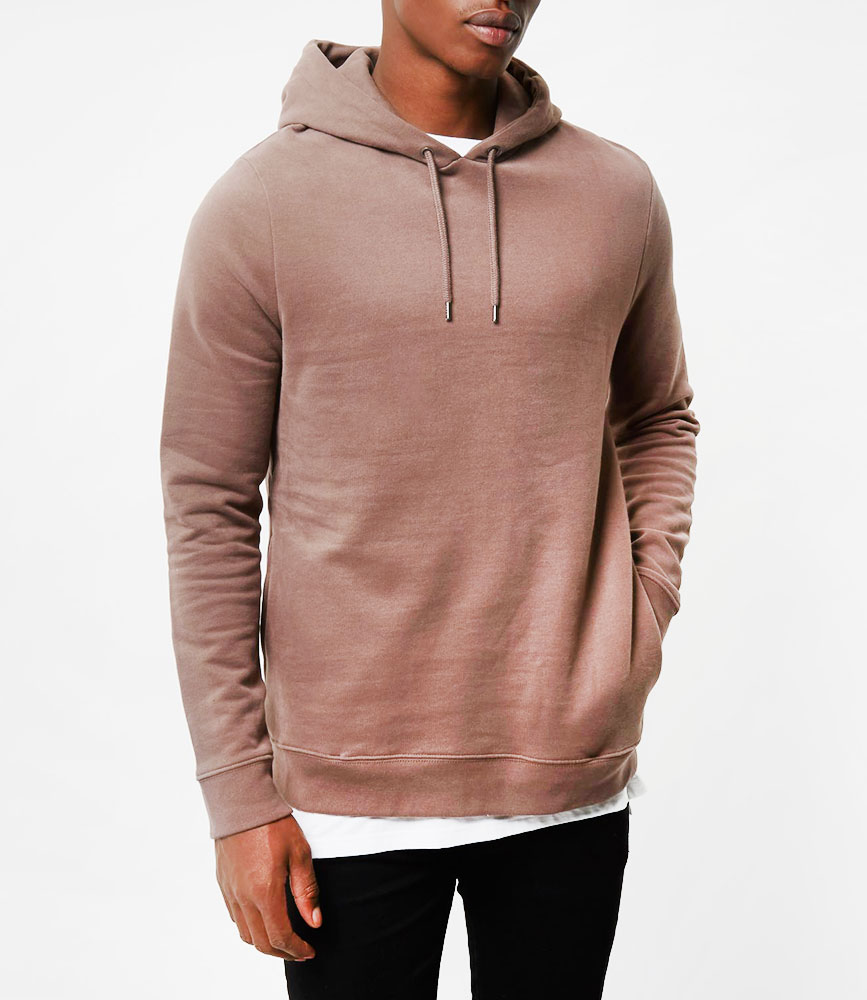 Dark soft hoodie